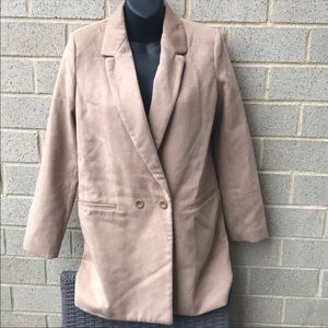 Forever 21 double breasted jacket Sz S